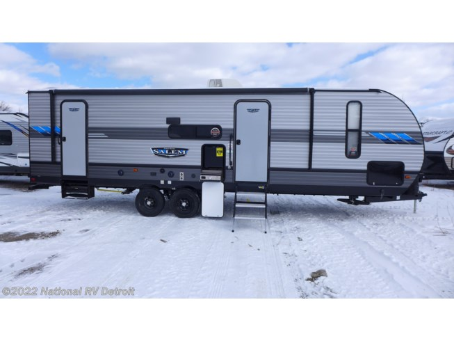 2020 Forest River Salem 26DBUD - New Travel Trailer For Sale by National RV Detroit in Belleville, Michigan