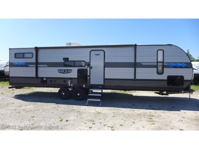 2021 Forest River Salem 29VBUD - New Travel Trailer For Sale by National RV Detroit in Belleville, Michigan