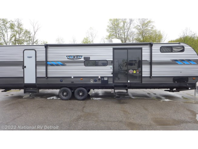 2021 Forest River Salem 36VBDS - New Travel Trailer For Sale by National RV Detroit in Belleville, Michigan