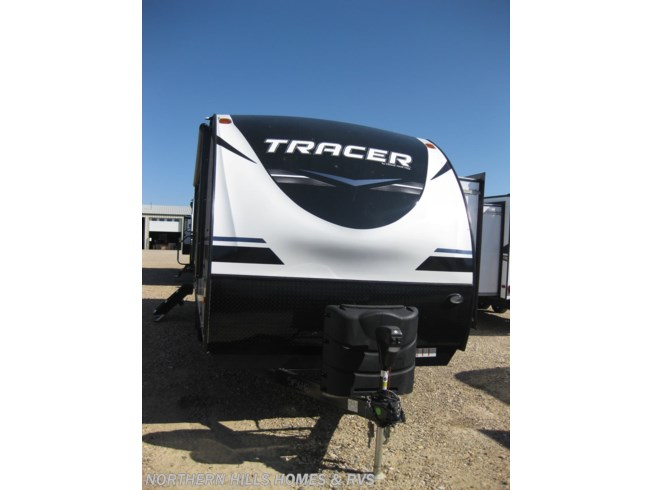 2019 Prime Time Tracer 260KS - New Travel Trailer For Sale by Northern Hills Homes and RV's in Whitewood, South Dakota features 30 Amp Service, Air Conditioning, AM/FM/CD, Black Tank Flush, CO Detector, Electric Jack, Enclosed Underbelly, Exterior Speakers, External Shower, Fiberglass Sidewalls, Furnace, Heated Underbelly, King Size Bed, LED HDTV, LP Detector, Microwave, Oven, Power Awning, Power Hitch Jack, Power Stabilizer Jacks, Refrigerator, Shower, Slideout, Smoke Detector, Solar Prep, Stove, Theater Seating, Tinted Windows, Water Heater