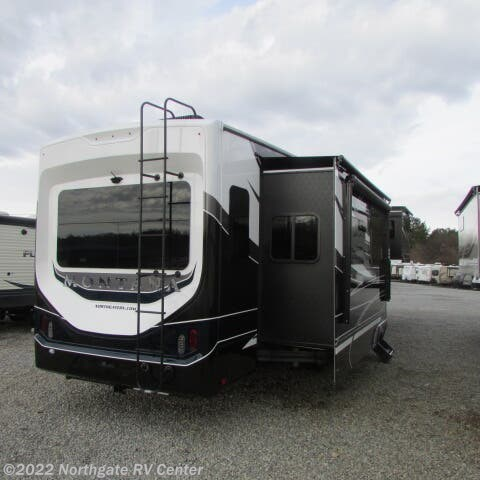 2021 Keystone Montana 3781RL - New Fifth Wheel For Sale by Northgate RV Center in Louisville, Tennessee features 50 Amp Service, Air Conditioning, Alloy Wheels, Automatic Leveling Jacks, Auxiliary Battery, Batteries, CD Player, Ceiling Fan, Central Vacuum, CO Detector, Converter, DVD Player, Enclosed Underbelly, Exterior Speakers, External Shower, Fireplace, Free Standing Dinette w/Chairs, Furnace, Glass Shower Door, Heated Underbelly, Hitch, Icemaker, Island Kitchen, King Size Bed, Kitchen Sink, Ladder, LED Lights, LP Detector, Medicine Cabinet, Microwave, Oven, Overhead Cabinetry, Pantry, Power Awning, Power Roof Vent, Propane, Refrigerator, Residential Refrigerator, Roof Vents, Screen Door, Second Roof A/C, Sewer Hose & Carrier, Shower, Skylight, Slam Latch Baggage Doors, Slideout, Slide-out Awning, Smoke Detector, Solar Prep, Solid Surface Countertops, Spare Tire Kit, Stove, Theater Seating, Tinted Windows, Toilet, TV, TV Antenna, Washer/Dryer Prep, Water Heater