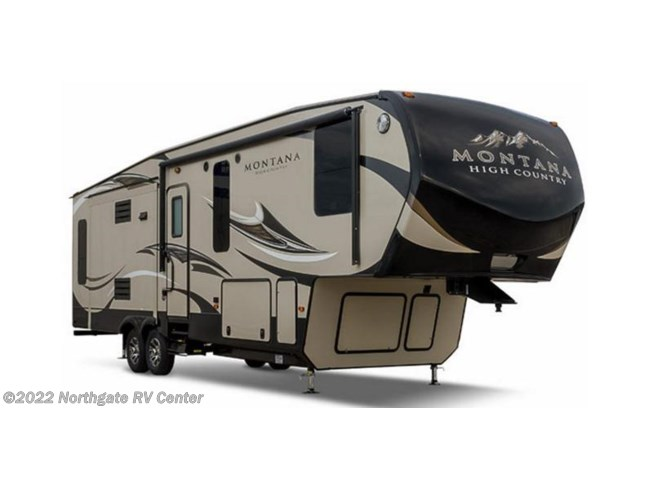 Stock Image for 2017 Keystone Montana High Country 305RL (options and colors may vary)