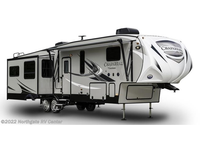 Stock Image for 2018 Coachmen Chaparral 391QSMB (options and colors may vary)