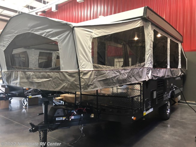 2019 Forest River Flagstaff 228BHSE - New Popup For Sale by Northgate RV Center in Ringgold, Georgia features 30 Amp Service, Air Conditioning, Alloy Wheels, Auxiliary Battery, Awning, Batteries, Bluetooth Stereo, Booth Dinette, CO Detector, Converter, Detachable Power Cord, Exterior Grill, Furnace, King Size Bed, Kitchen Sink, LED Lights, LP Detector, Propane, Queen Bed, Queen Mattress, Refrigerator, Screen Door, Shower, Smoke Detector, Spare Tire Kit, Stabilizer Jacks, Stove, Toilet