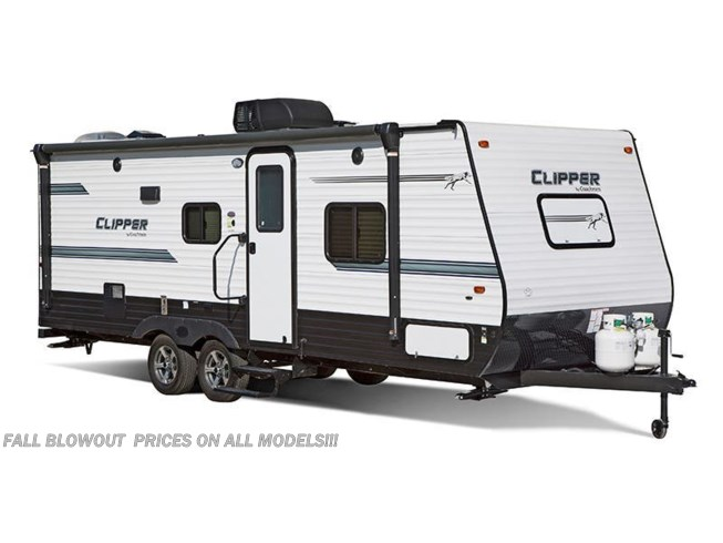 Stock Image for 2019 Coachmen Clipper Ultra-Lite 21RD (options and colors may vary)