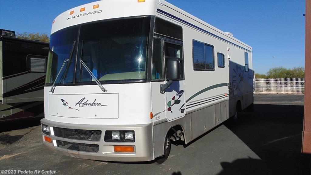 11198 - Used 1998 Winnebago Adventurer 32WQ Class A RV For Sale