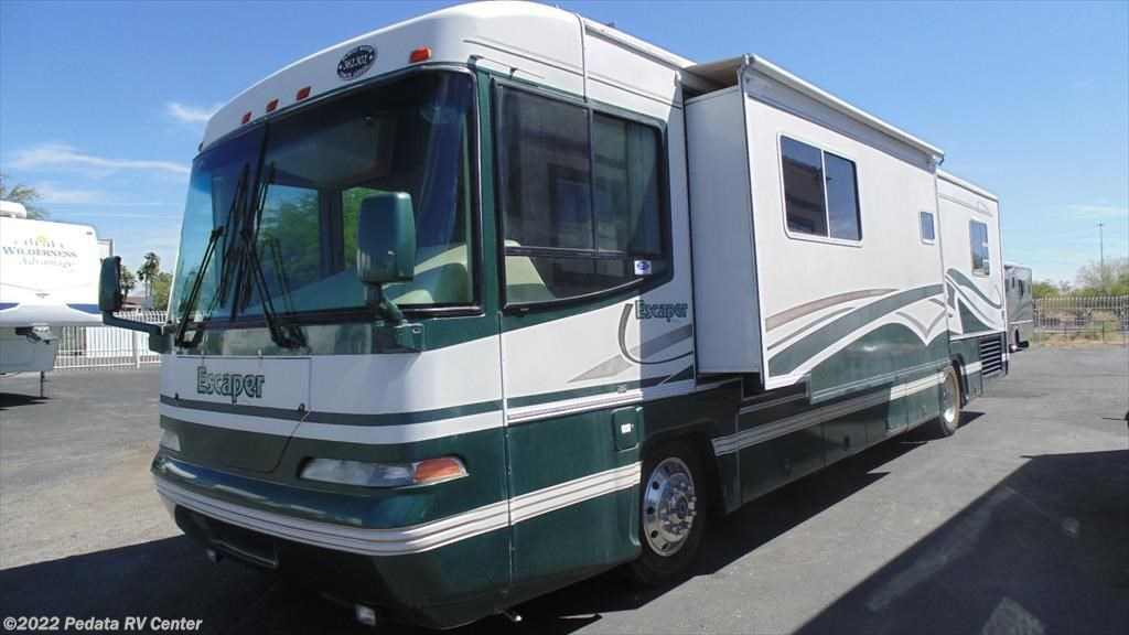 11499 - Used 2000 Damon Escaper 3980 w/1sld Diesel Pusher RV For Sale