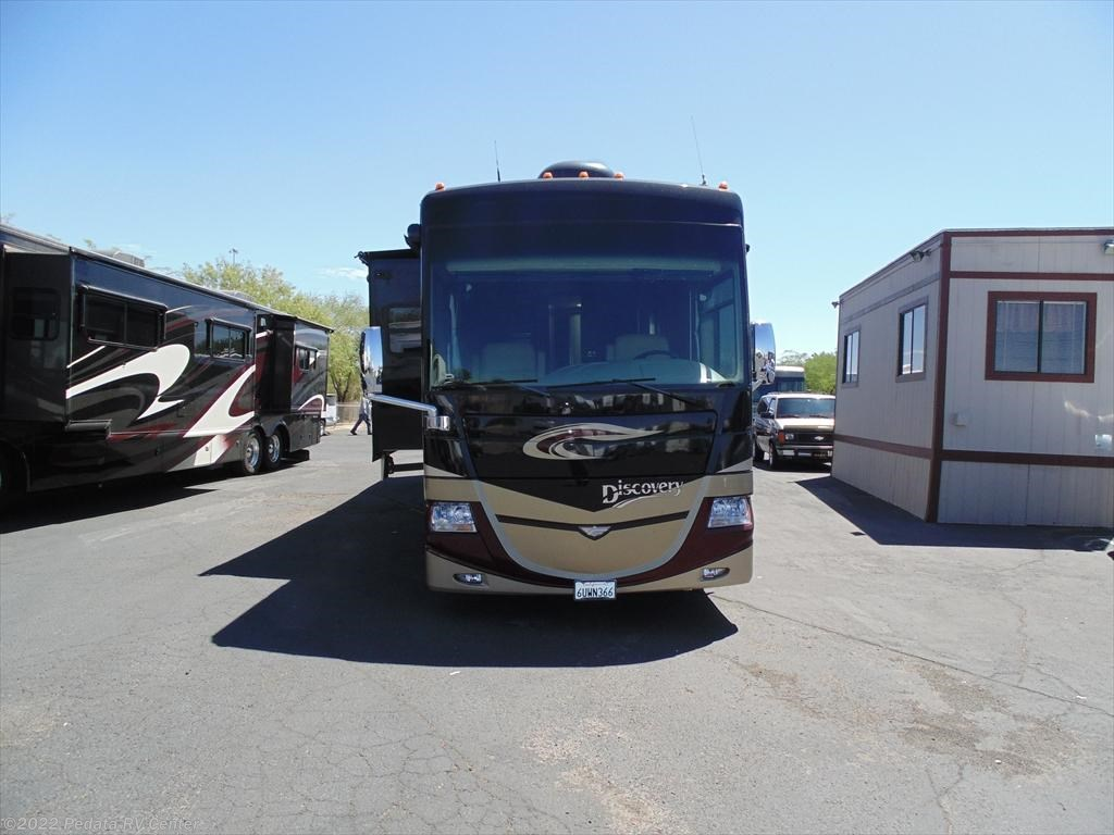 10750 used 2011 fleetwood discovery 40g diesel pusher rv for sale. Black Bedroom Furniture Sets. Home Design Ideas