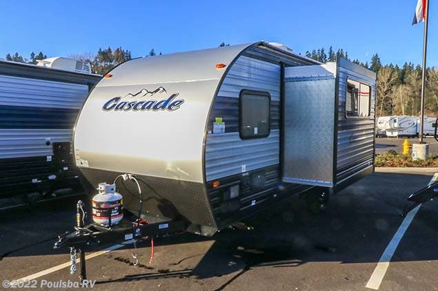 2021 Forest River CASCADE 17JG - New Travel Trailer For Sale by Poulsbo RV in Sumner, Washington features Awning