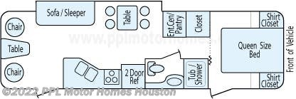 Floorplan of 2011 Jayco Eagle Super Lite 298RLS