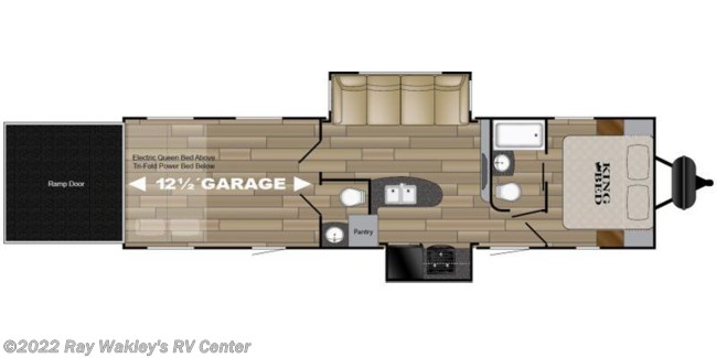 2018 Heartland RV Torque XLT T31 Floorplan