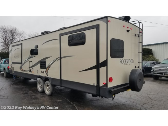 2019 Forest River Rockwood Ultra Lite 2910SB - New Travel Trailer For Sale by Ray Wakley's RV Center in North East, Pennsylvania features Converter, Enclosed Underbelly, TV Antenna, Exterior Grill, Sewer Hose & Carrier