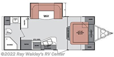 2013 Cruiser RV Fun Finder F-214WSD Floorplan