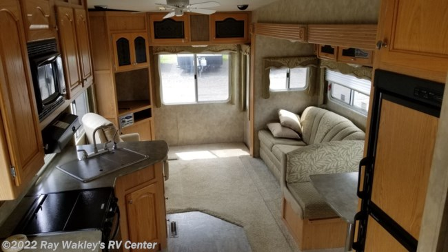 2007 Fleetwood Terry 285RL Floorplan