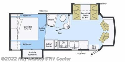 2013 Winnebago Aspect 27K Floorplan