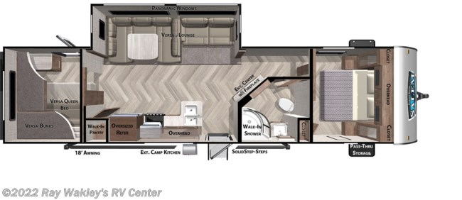 2020 Forest River Salem 29VBUD Floorplan