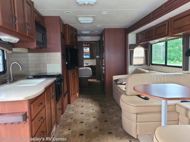 2013 Four Winds International Hurricane 34E Floorplan