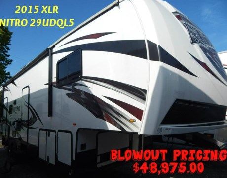196 2015 Forest River Xlr Nitro 29udql5 For Sale In
