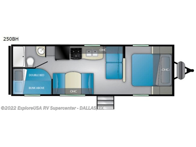 2020 Heartland Prowler 250BH - New Travel Trailer For Sale by ExploreUSA RV Supercenter - MESQUITE, TX in Mesquite, Texas