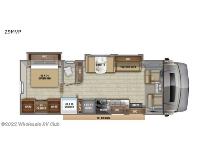 2020 Jayco Greyhawk Prestige 29MVP - New Class C For Sale by Wholesale RV Club in , Ohio features Slideout
