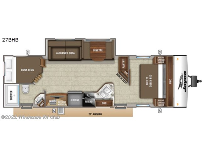 New 2021 Jayco Jay Feather 27BHB available in , Ohio