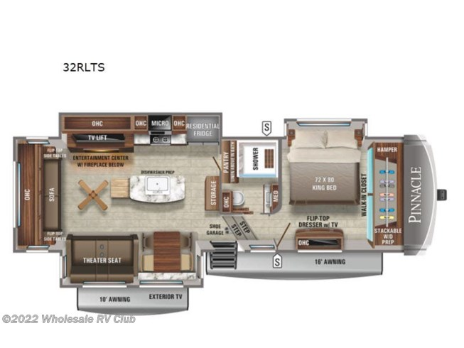 New 2021 Jayco Pinnacle 32RLTS available in , Ohio