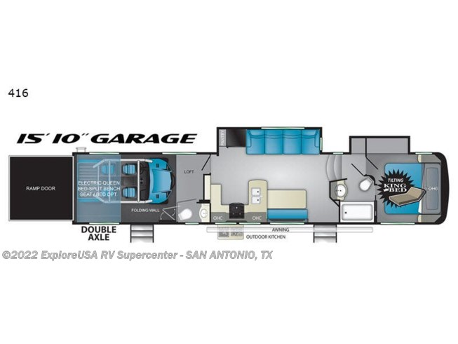 2019 Torque TQ 416 by Heartland from ExploreUSA RV Supercenter - SAN ANTONIO, TX in San Antonio, Texas