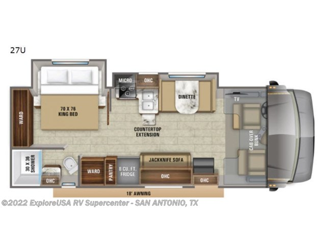 New 2021 Jayco Greyhawk 27U available in San Antonio, Texas