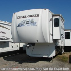 2010 Forest River Cedar Creek 34SATS  - Fifth Wheel Used  in Mechanicsville MD For Sale by Economy RVS, LLC call 877-233-6834 today for more info.