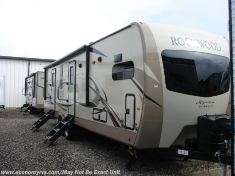 New 2018 Forest River Rockwood Signature Ultra Lite 8335BSS For Sale by Economy RVs available in Mechanicsville, Maryland