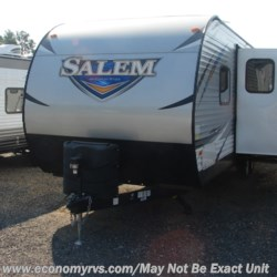 2018 Forest River Salem 27DBK  - Travel Trailer New  in Mechanicsville MD For Sale by Economy RVS, LLC call 877-233-6834 today for more info.