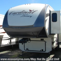 2019 Forest River Cardinal 3350RLX  - Fifth Wheel New  in Mechanicsville MD For Sale by Economy RVS, LLC call 877-233-6834 today for more info.