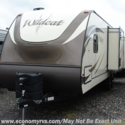 2019 Forest River Wildcat 343BIK  - Travel Trailer New  in Mechanicsville MD For Sale by Economy RVS, LLC call 877-233-6834 today for more info.