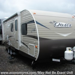 New 2019 Shasta Oasis 26DB For Sale by Economy RVS, LLC available in Mechanicsville, Maryland