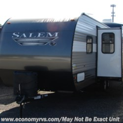 2019 Forest River Salem 26DBLE  - Travel Trailer New  in Mechanicsville MD For Sale by Economy RVS, LLC call 877-233-6834 today for more info.