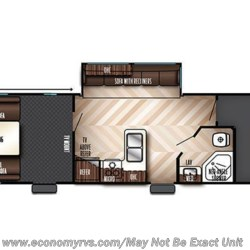 2018 Forest River Vengeance Rogue 31V floorplan image