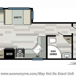 2019 Forest River Salem 28RLSS floorplan image