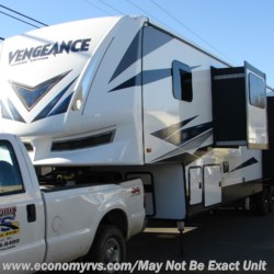 2019 Forest River Vengeance Touring Edition 385FK13  - Toy Hauler New  in Mechanicsville MD For Sale by Economy RVS, LLC call 877-233-6834 today for more info.
