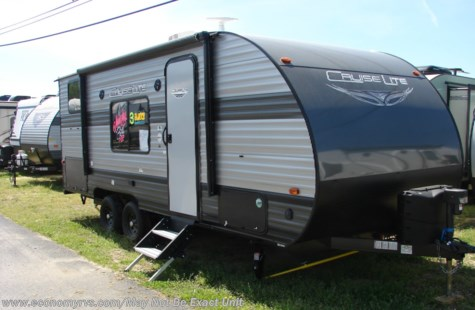 New 2019 Forest River Salem Cruise Lite 19DBXL For Sale by Economy RVS, LLC available in Mechanicsville, Maryland