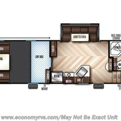 2019 Forest River Vengeance Rogue 311A13 floorplan image