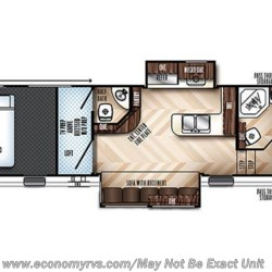 2019 Forest River Vengeance 348A13 floorplan image