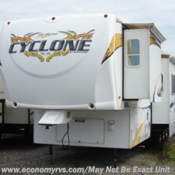 2009 Heartland  Cyclone 3914  - Toy Hauler Used  in Mechanicsville MD For Sale by Economy RVS, LLC call 877-233-6834 today for more info.