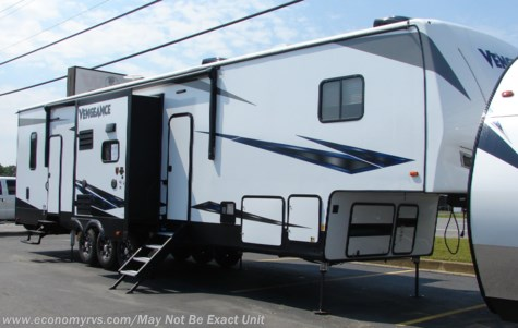 New 2019 Forest River Vengeance 377V For Sale by Economy RVS, LLC available in Mechanicsville, Maryland
