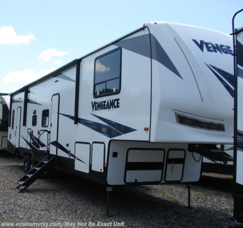 New 2019 Forest River Vengeance 345A13 For Sale by Economy RVS, LLC available in Mechanicsville, Maryland