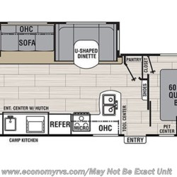 2019 Coachmen Spirit Ultra Lite 2963BH floorplan image