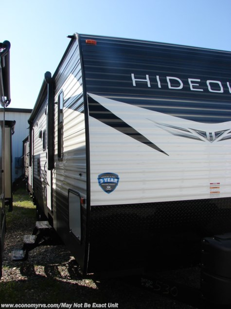 New 2019 Keystone Hideout 318LHS For Sale by Economy RVS, LLC available in Mechanicsville, Maryland