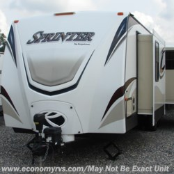 2014 Keystone Sprinter 302RLS-WB  - Travel Trailer Used  in Mechanicsville MD For Sale by Economy RVS, LLC call 877-233-6834 today for more info.