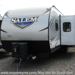 2018 Forest River Salem 37BHSS2Q  - Travel Trailer Used  in Mechanicsville MD For Sale by Economy RVS, LLC call 877-233-6834 today for more info.