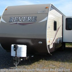 2018 Shasta Revere 27RL  - Travel Trailer Used  in Mechanicsville MD For Sale by Economy RVS, LLC call 877-233-6834 today for more info.
