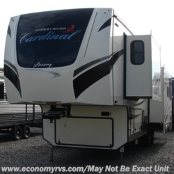 2020 Forest River Cardinal Luxury 335RLX  - Fifth Wheel New  in Mechanicsville MD For Sale by Economy RVS, LLC call 877-233-6834 today for more info.